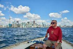 Mit dem Boot auf die Toronto Islands
