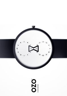 Ozo : Design and Minimal Watch #time