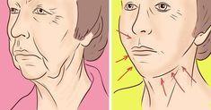 С помощью простых ежедневных упражнений и массажа ты быстро избавишься от брылей на лице.