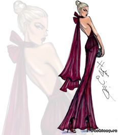 Fashion illustrations Hayden Williams