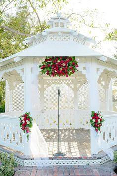 Alta Vista Country Club, Orange County Weddings, Gazebo Decor