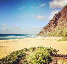 Polihole beach (Kauai)- camping