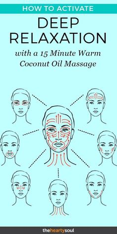 The benefits of massage seem endless! So if you're thinking of massage therapy, you'll want to know this coconut oil massage for relaxation and more. therapy How to Activate DEEP Relaxation With a 15 Minute Warm Coconut Oil Massage Massage Tips, Massage Benefits, Face Massage, Massage Therapy, Lymph Massage, Deep Massage, Massage Room, Acupressure Massage, Acupressure Points