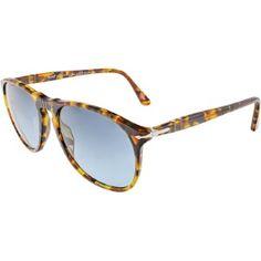 d337a27d1b Persol Men s PO9714S-24 33-55 Brown Round Sunglasses