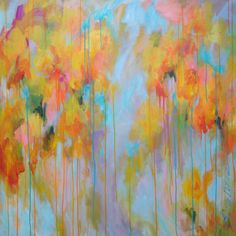Abstract Painting by Elenas Art Studio contemporary artwork