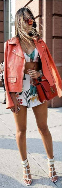 Floral Spring/Summer Street Style