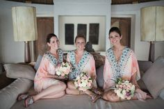 These are such gorgeous bridesmaids' dresses for a tropical or island wedding! I want one!