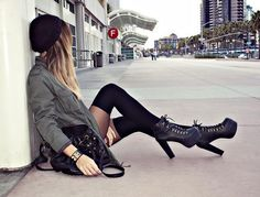 The Style Files: 'Sexy or Skanky' – Jeffrey Campbell's Lita Boots   Her Campus