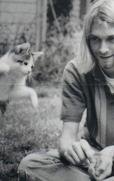 meow and cobain