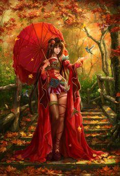 New digital art girl anime fantasy Ideas Anime Fantasy, Fantasy Girl, Chica Fantasy, Fantasy Women, Fantasy Story, Fantasy Artwork, Anime Artwork, Image Digital, Art Asiatique