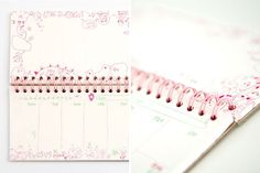 7 Day Planner: A weekly calendar from Poketo that's half planner, half sketchbook.