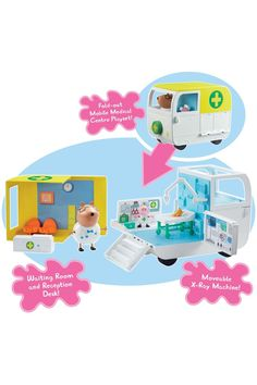 Buy Peppa Pig™ Mobile Medical Centre from the Next UK online shop Jojo Siwa Outfits, Toddler Bed Frame, Create Your Own, Create Yourself, Romantic Picnics, Lol Dolls, Medical Center, Baby Room Decor, Peppa Pig