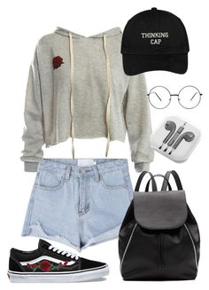 """""""Untitled #99"""" by nikh-papa ❤ liked on Polyvore featuring Sans Souci, Vans, Witchery and PhunkeeTree"""