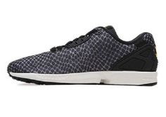 newest df3cd c1157 NEW adidas Torsion ZX Flux Decon Structed Sneaker Trainers Shoes black  B23724