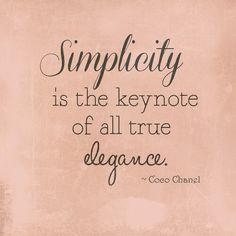 I could not agree more!!      Aline ♥ simplicity in everything