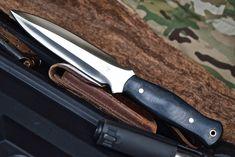 CFK USA Custom Handmade D2 Double Edge Tactical Trench Combat Dirk Dagger Knife #CFKCutleryCo