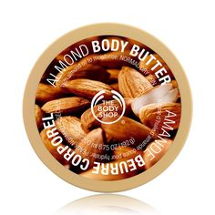 The Body Shop Almond Body Butter 200ml - with almond oil for normal/dry skin