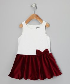 Eyelet Drop-Waist Dress