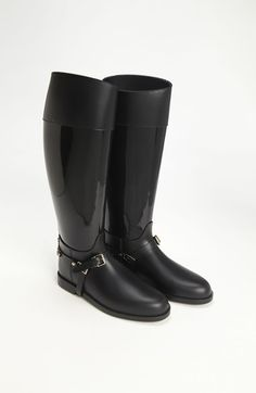 Jimmy Choo 'Cheshire' Rain Boot - These are beautiful and fit like a glove. I want to wear them even if it's above 80 degrees and not a rain cloud in sight!