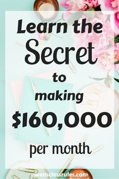 Learn how to make money blogging using affiliate marketing. Michelle works from home and makes a full time income using these strategies.