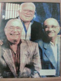 José Miguel Agrelot, Paquito Cordero y Tommy Muñiz