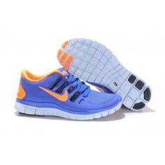 Nike Free 5.0+ Unisex Blå Oransje | Nike sko tilbud | Duty-free Nike sko på nett | Nike sko nettbutikk norge | ovostore.com