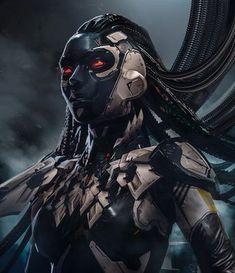 Alien Character, Cyberpunk Character, Character Art, Alien Concept Art, Concept Art World, Arte Cyberpunk, Fantasy Character Design, Character Concept, Henn Kim