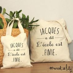 Simple Simon Says . be Happy! tote-bag Jacques a dit Be Happy - marcel et lily Marcel Et Lily, Diy Cadeau Maitresse, Cola Light, Jacques A Dit, School Is Over, Diy Tote Bag, Tote Bags, Vinyl Paper, Silhouette Portrait