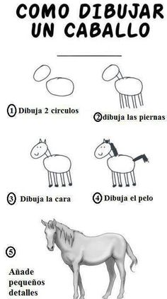 Twitter / MejoresTwits: Como dibujar un caballo Humor Grafico, Equestrian, Good Morning, Place Card Holders, Drawings, Funny, Animals, Happy, Wall