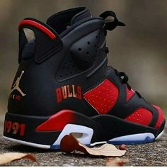 shoes black and red jordan red black gold chicago bulls jordans jordans chicago chicago bulls black jordan red chicago bulls retro 6 custom jordan's retro jordans air jordan custom jordans custom shoes sneakers jordan 7 1991 dope thee are dope af Jordan Shoes Girls, Air Jordan Shoes, Jordan 7, Jordan Swag, Michael Jordan Shoes, Sneakers Fashion, Fashion Shoes, Shoes Sneakers, Running Sneakers