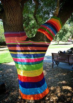 yarn bomb by megahan7, via Flickr