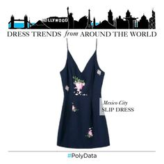 """PolyData: Mexico City's Most Popular Dress Trend"" by polyvore ❤ liked on Polyvore featuring polydata"
