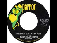 """Jonathan King - *""""Everyone's Gone To The Moon""""* Jonathan King, Like This Song, Pop Hits, Beautiful Songs, Motown, Pop Music, The Past, Youtube, Youtubers"""