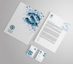 La corporate identity dell'azienda è stata consolidata attraverso la riproduzione del logo su business card, carta intestata e cartellina porta documenti.  #corporateidentity #businesscard #brandimage #GRAFFIOBrand