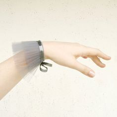 Boxing Day Sale - grey tulle cuff - victorian vampire costume - mto. €12,00, via Etsy.