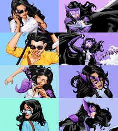 """Didn't anyone ever tell you the lioness does the hunting, chairman? Batgirl, Catwoman, Nightwing, Harley Quinn, Helena Bertinelli, Univers Dc, Dc Anime, Best Superhero, Batman Family"