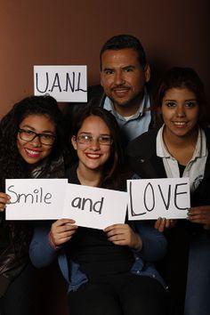 UANL, Ricardo Vargas, Maestro, UANL, Monterrey, México  Smile, Diana Cervantes, Estudiante, UANL, Monterrey, México  And, Aleida Ramírez, Estudiante, UANL, Monterrey, México  Love, Fátima Bosque, Estudiante, UANL, Monterrey, México