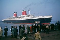 SS United States in 1956