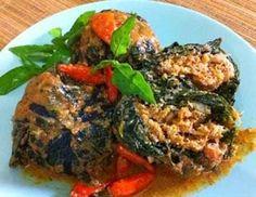 Resep dan cara membuat buntil daun pepaya bisa ganti daun singkong juga http://resep4.blogspot.com/2014/11/resep-buntil-daun-pepaya-singkong.html resep masakan indonesia