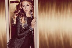 Sarah Jessica Parker by Guy Aroch for Maria Valentina Fall 2013 Campaign