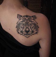 tigre tatuaje