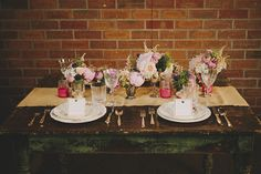 Rustic Pastel Vintage Bridal Shower | The Itchy Eyes
