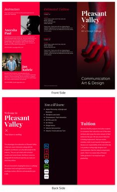 246 best trifold brochure design ideas templates images on