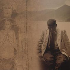 Carl Jung deep in Thought.
