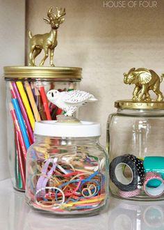 Love these DIY jars.