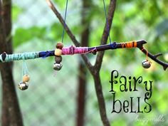 Fun Activities to Do With Your Kids - DIY Kids Crafts and Games - Good Housekeeping  #27 fairy bells