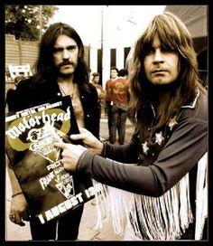 Lemmy Kilmeister & Ozzy Osborne