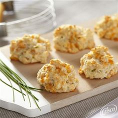 Cheddar Drop Biscuits from Crisco®