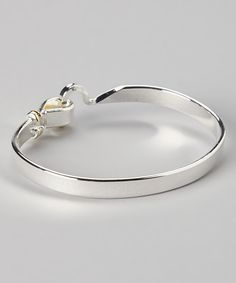 Silver Fiona Hook Bracelet