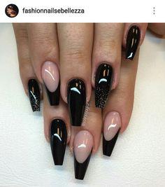 Black nails..